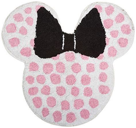 Disney Minnie Mouse Bath Mat Tufted Rug Minnie Mouse Bathroom Rug