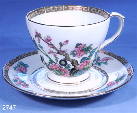 vintage china duchess indian tree vintage bone china tea cup and saucer
