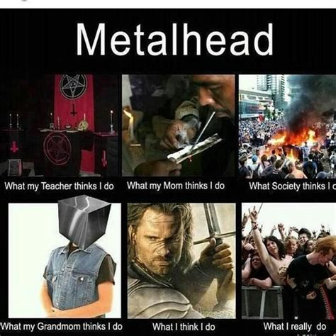 Metalheads Memes - metalhead memes google search metal pinterest meme