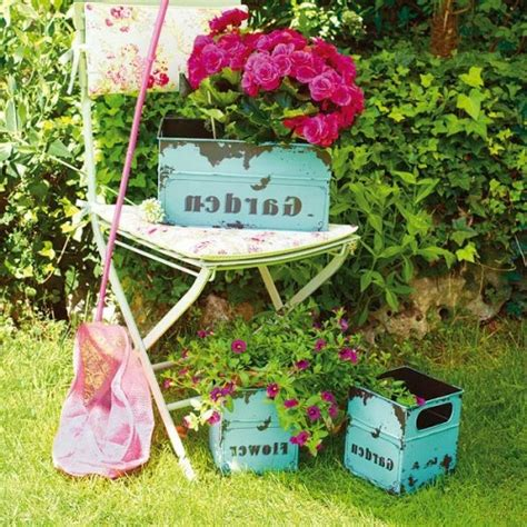 Garten Gestalten Vintage by 24 Coole Vintage Blument 246 Pfe Im Garten Einbauen