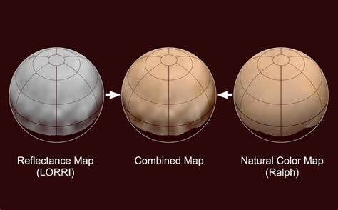 color of pluto another planet new horizons data reveal true color of