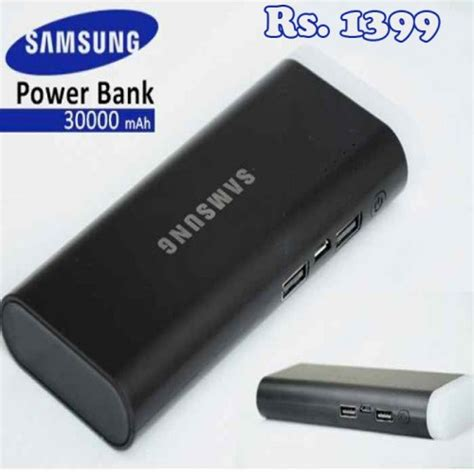 Power Bank Samsung Yang 30000mah samsung 30000mah compact power bank portable a1