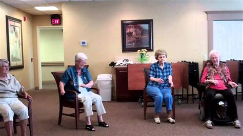 Armchair Exercises For The Elderly Dvd by Chair Class 1