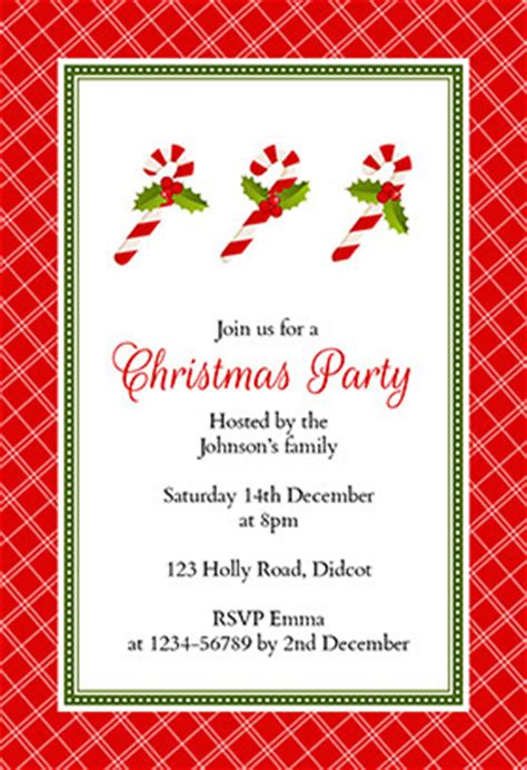 christmas party invitation template free gangcraft net
