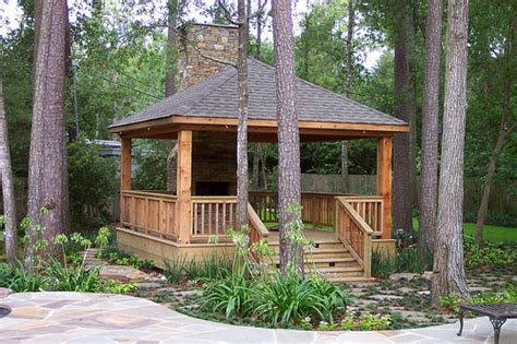 country gazebo and fireplace flickr photo