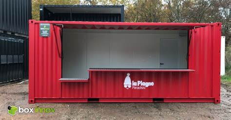 transformation des containers maritimes cedcontainer transformation de container en stand