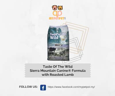 Diskon Taste Of The Mountain Canine Formula 13kg shop from home malaysia