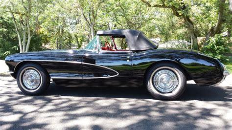hayes car manuals 1956 chevrolet corvette interior lighting chevrolet corvette convertible 1956 tuxedo black for sale e56s004328 1956 corvette frame off