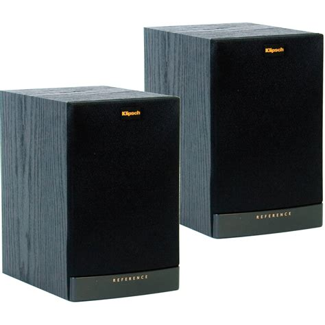 klipsch rb 41 ii bookshelf speakers pair black 1011855 b h