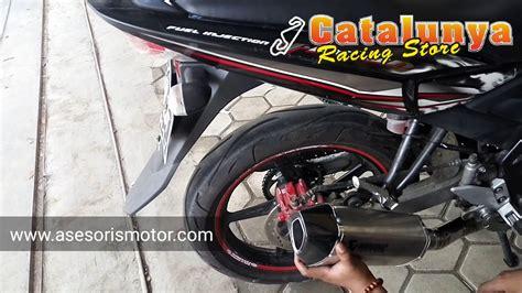 Sale Knalpot Racing Akrapovic For Vixion Xabre R15 1 knalpot racing yamaha vixion akrapovic hexagonal racing custom