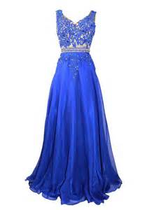 Trendy long royal blue prom dresses 2017 royal blue formal dresses