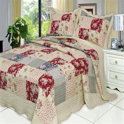 Country Patchwork Quilt Sets - 226 best images about rustic bedroom decor on