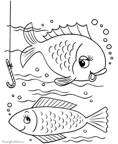 Fish Coloring Book Pages 001 Coloring Book Printing
