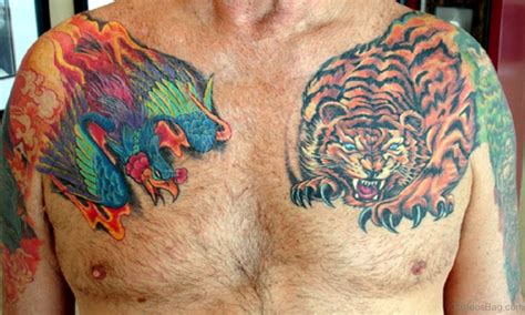 japanese tiger tattoo on chest 71 stylish tiger tattoo on chest