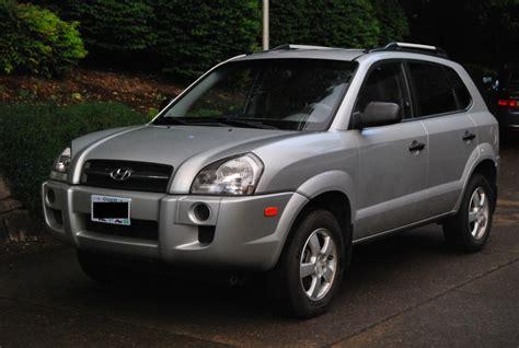 2008 hyundai tucson 2008 hyundai tucson gls picture exterior