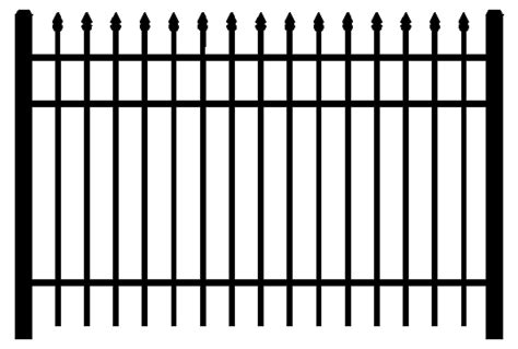 Home Design Architectural Series 18 commercial aluminum fence 1000 series digger