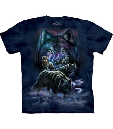 Tshirt Wolf Pack Bdc the mountain unisex wolf pack animal t shirt