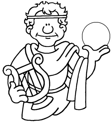 Ancient Greece Colouring Pages Kraken Greek Coloring Pages Coloring Pages by Ancient Greece Colouring Pages