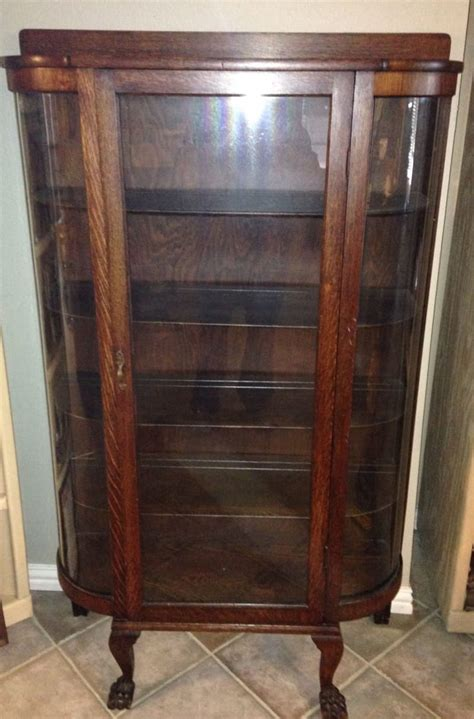 antique curio cabinets for sale antique curved glass curio cabinet antique furniture