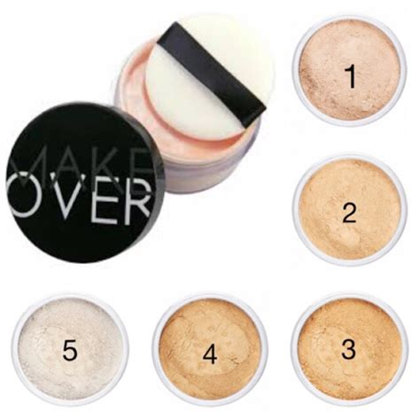 Bedak Powder Makeover make silky translucent powder shopee indonesia