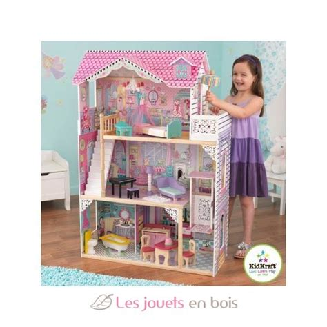 annabelle doll house annabelle dollhouse kidkraft 65079 a wooden dollhouse
