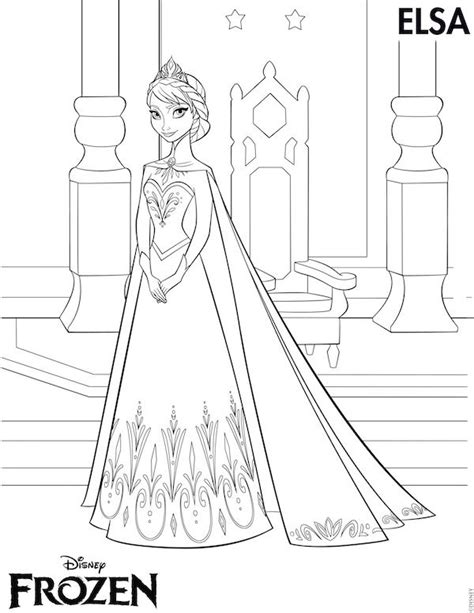 free printable elsa crown template free frozen printables coloring pages elsa crown anna
