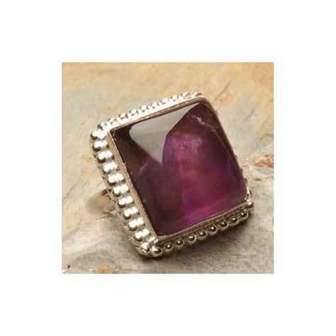Cincin Wanita Lapis Perak 925 Dengan 1 2ct Batu Amethyst cincin wanita lapis perak 925 dengan permata kecubung alami