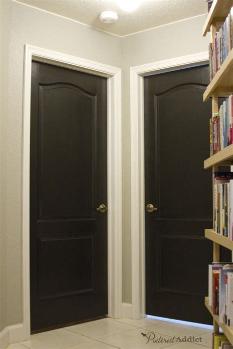 Interior Laundry Room Doors Painting The Interior Doors Black Black Door Laundry Rooms And Laundry