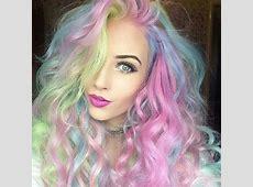 rainbow hair | Tumblr | Hairstyles | Pinterest Rainbow Hair Tumblr