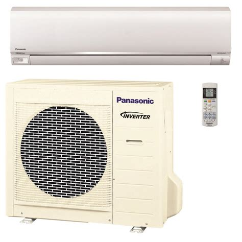Ac Outdoor Panasonic panasonic 18 000 btu 1 5 ton exterios ductless mini split