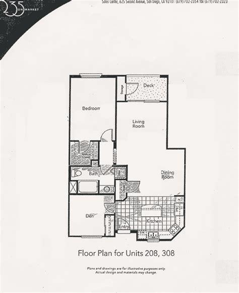 market floor plan 235 on market floor plan unit 208 308
