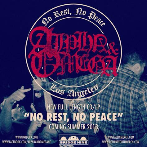 No Rest No Peace alpha omega on tour in europe with terror alt uk