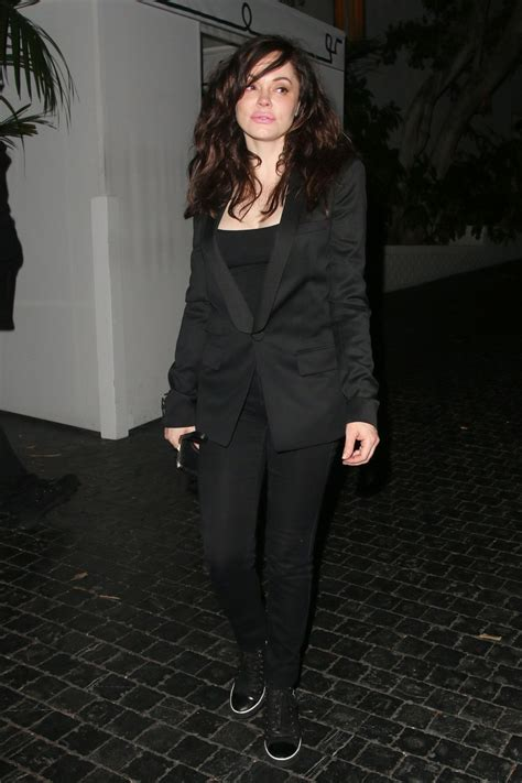 Mcgowan For In Style by Mcgowan Out Style Leaving Chateau Marmont In
