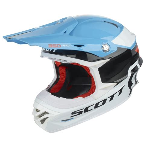 scott motocross helmet motocross helmet scott 350 pro race blue orange