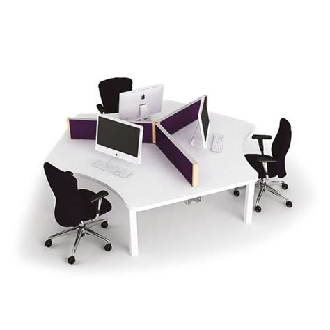 One001 Three Person Team Desk Cluster Spaceoasis Ltd