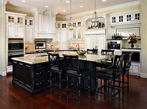 black kitchen island with seating best large kitchen island with seating baytownkitchen com
