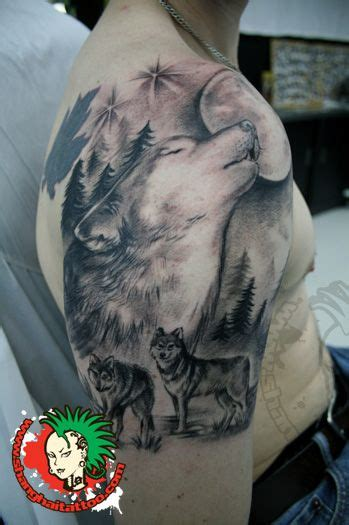 wolf pack tattoo we are a studio in shanghai china we do tattooing