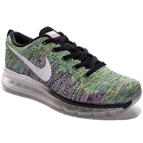 max sports shoes buy nike mesh flyknit max green sports shoes os02