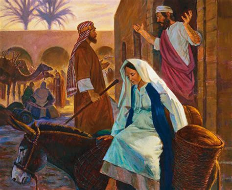 There Is No Room At The Inn by What The Story Can Teach Us New Era December