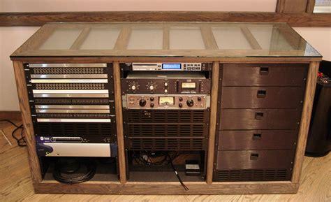 Recording Studio Rack Furniture by Sea Vista Custom Furniture Steven Klein S Sound