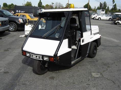 los angeles parking enforcement 2001 westward go 4 interceptor parking enforcement vehicle