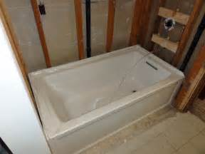 archer tub by kohler terry plumbing remodel diy