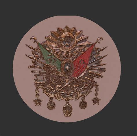Ottoman Symbols Ottoman Symbol 3d Model Ztl Cgtrader