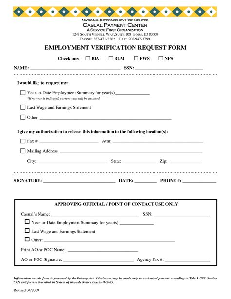Income Verification Letter doc 718941 7 employment verification forms template
