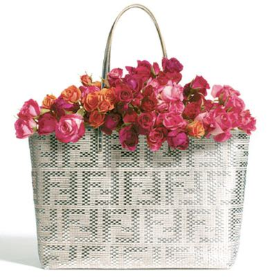 Fendi Woven Tote Supporting American Forests fendi woven tote supporting american forests