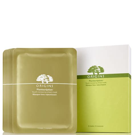 Masker Origins origins plantscription youth renewing sheet mask masker