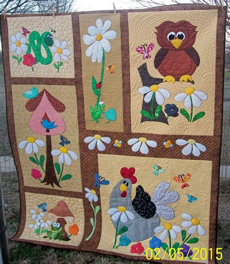 Animal Patchwork Quilt Patterns - 17 best images about quilts appliques birds b