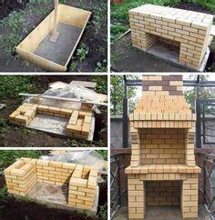 mauerwerk outdoor kamin pläne built in smoker island outdoor k 252 chen