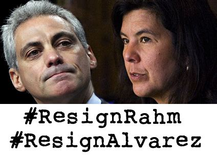 after mcdonald killing emanuel tries to buy time with tell rahm emanuel and anita alvarez it s time to resign