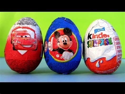 mickey mouse surprise eggs play toys kinder chocolate mickey mouse surprise egg kinder surprise eggs disney